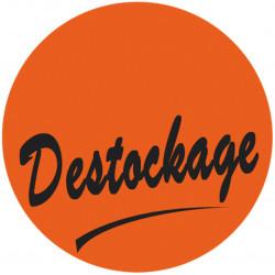 """Étiquette adhésive """"Destockage"""""""