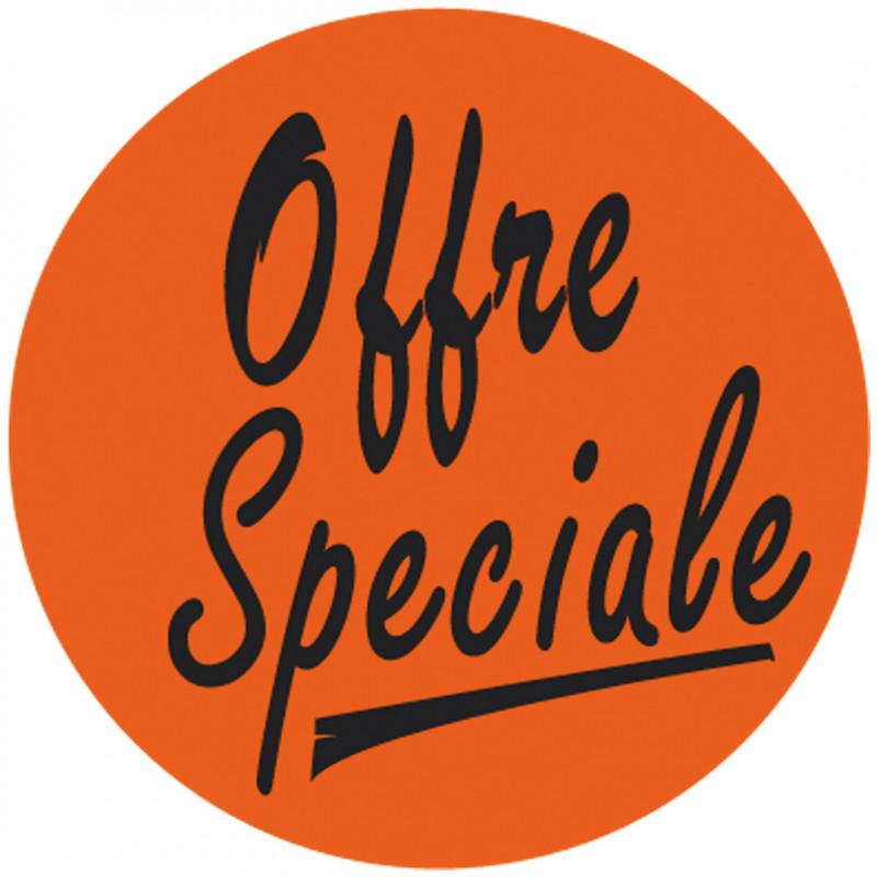 """Étiquette adhésive """"Offre Spécial"""""""