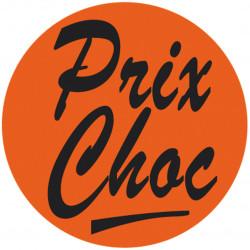 """Étiquette adhésive Fluo """"Prix Choc"""""""