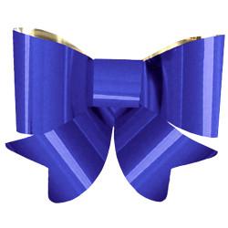Nœud bleu PVC 45 cm