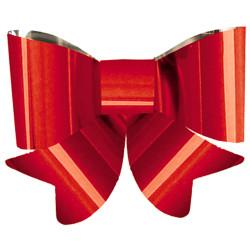 Nœud rouge PVC 45 cm