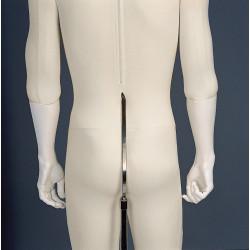 Base acier insert dos pour mannequin flexibles