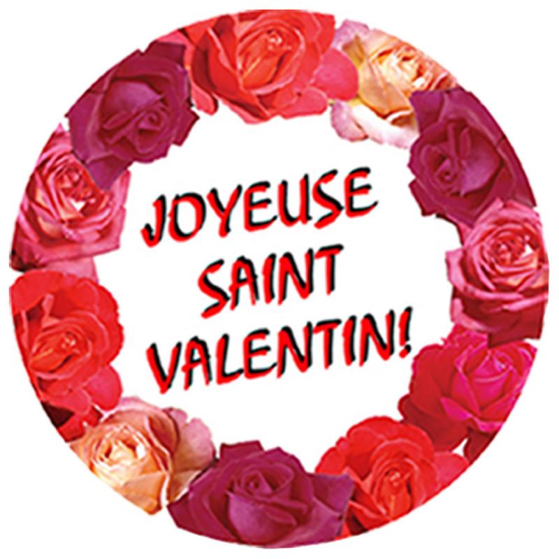 Cut out  en carton de 30 cm spécial St Valentin