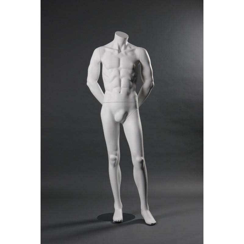 Mannequin droit Homme sans tête type 6