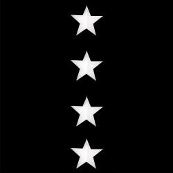 Guirlande d'étoiles ouate...
