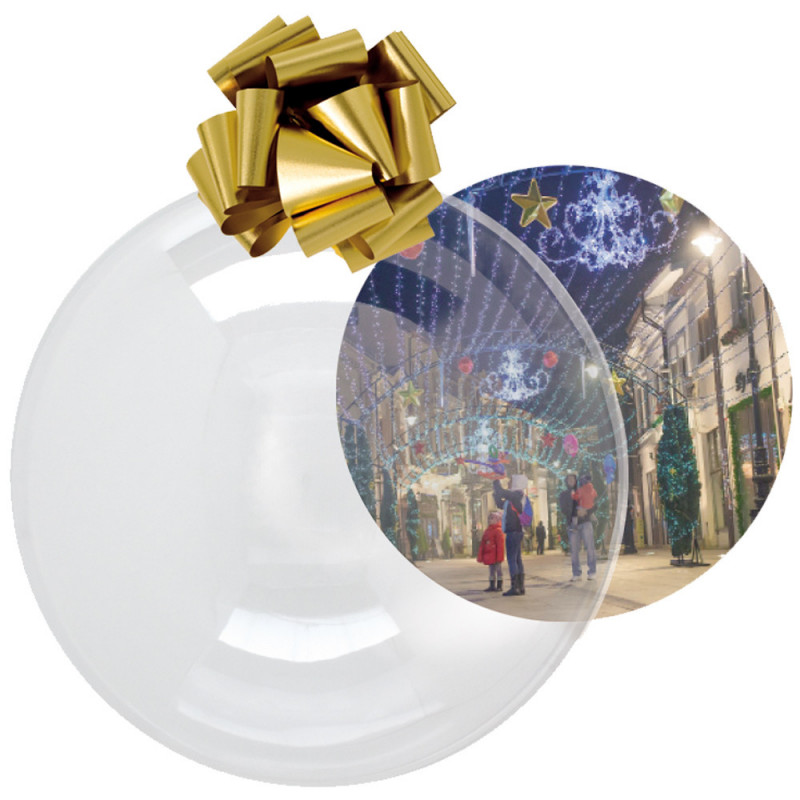 BOULE THERMOFORMEE 55cm transparente