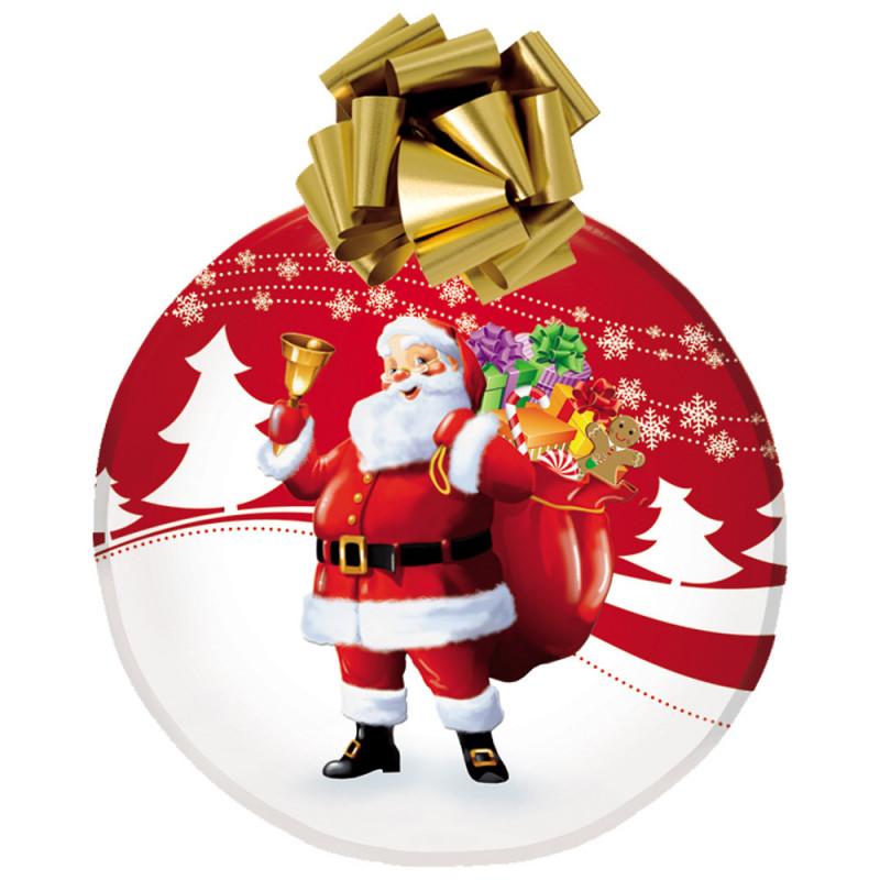 """Boule de Noel, """"Père Noel"""" à assembler 70cm"""