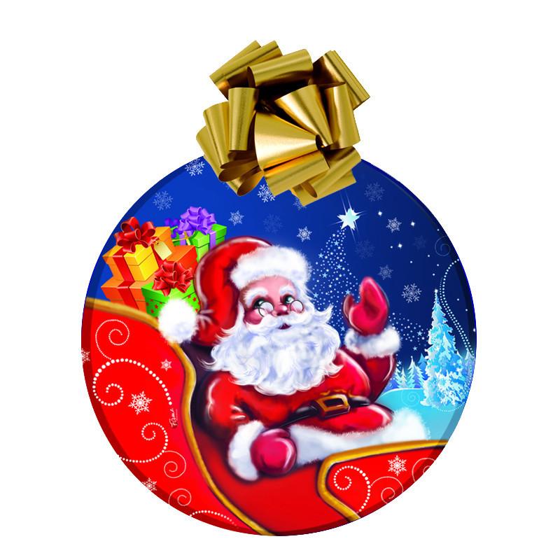 """Boule de Noel, """"Père Noel"""" grande dimension 70cm"""