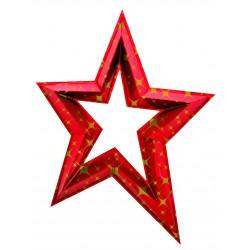 Étoile en 3D de 120 cm -...
