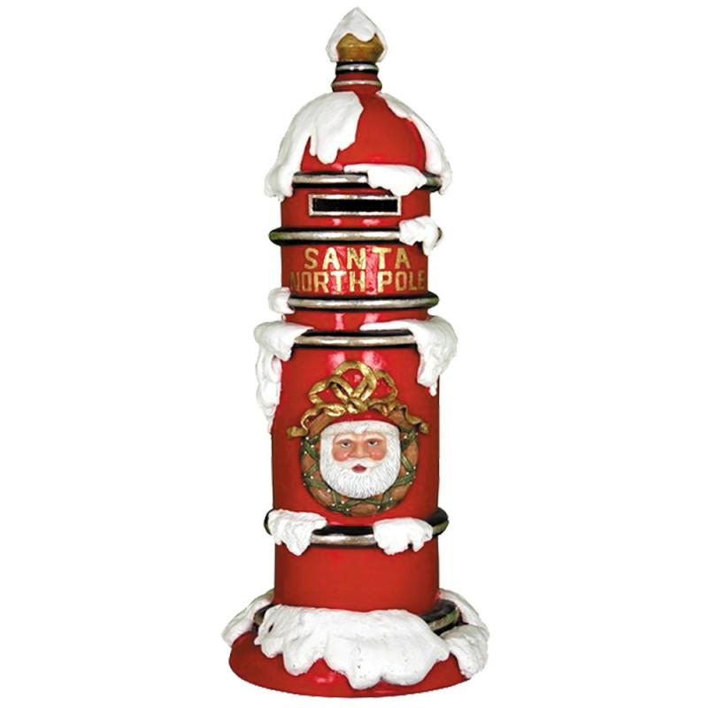 Boite aux lettres enneigée spécial Noël