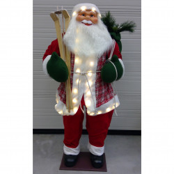Père Noël  lumineux 180 cm