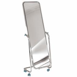 Miroir orientable sur pied Métal