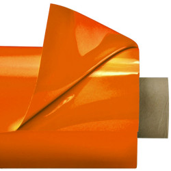 Laquefolie Orange ignifugée 130 cm