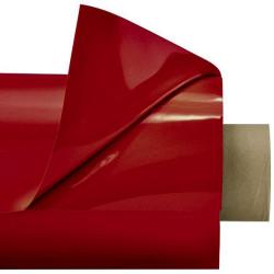 Laquefolie ignifugée de 130 cm en coloris bordeaux