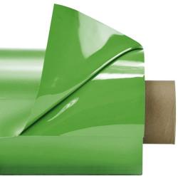 Laquefolie vert clair (644) ignifugée  Largeur 130 cm