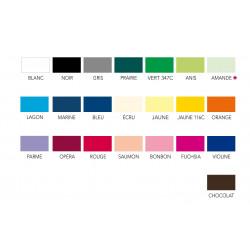 Polyester Taffetas Ignifugé M1- gamme coloris