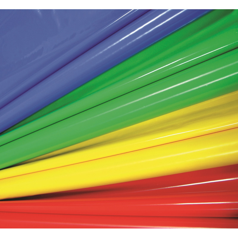 Laquefolie ignifugée UNIE 130 cm  -  (24 coloris)