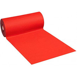 Moquette coloris rouge...
