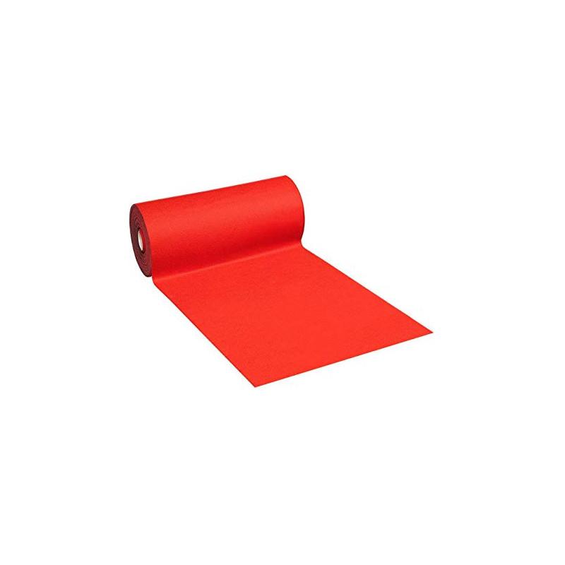 Moquette coloris rouge Largeur 1 mètre
