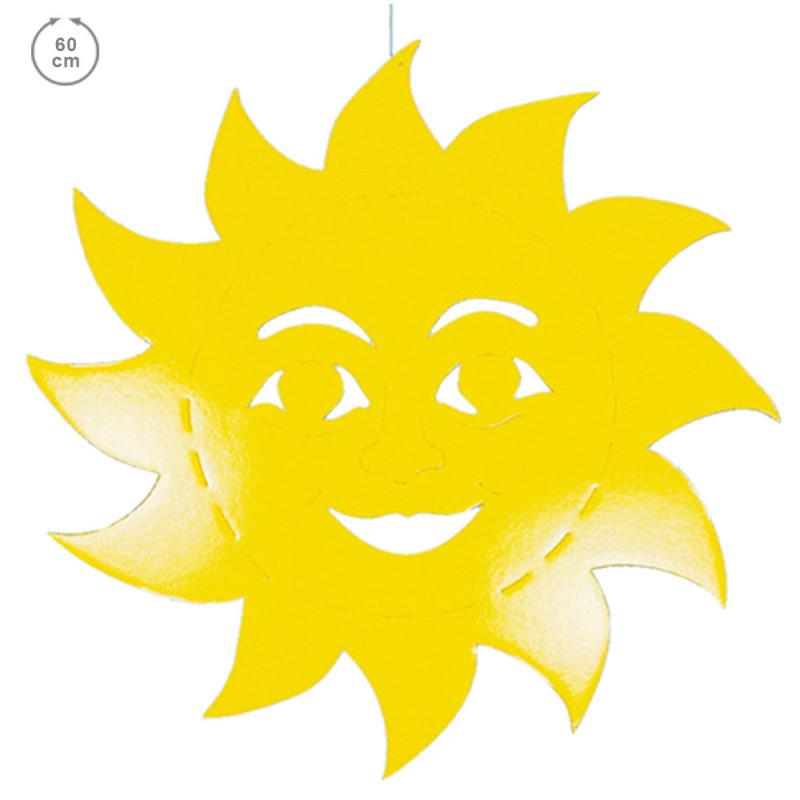 Soleil carton 68 cm