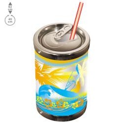 "Grande canette de Soda en ""3D"""