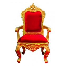 TRONE PèRE NOEL  (chaise)