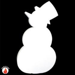 Bonhomme de neige en ouate...