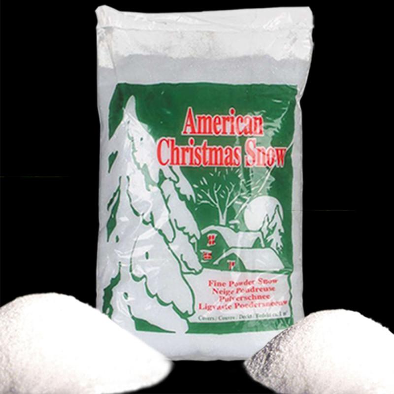 Sachet de 26 litres de neige fine artificielle