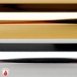 Lumifol ignifugé coloris argent /argent ou or/argent