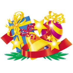 Décor d'ornements de Noël...