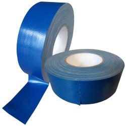 Rouleau de 50 mètres de gaffer bleu en largeur de 5 cm