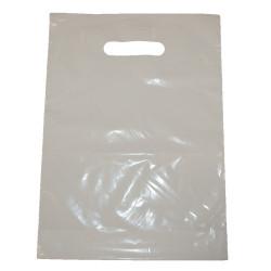 Sac plastiques blanc 35x45 cm