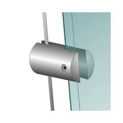 Pince pour kit câble chromée