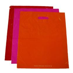 sac plastique 25x32 cm couleur