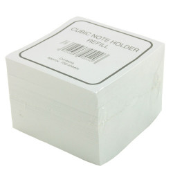 Bloc cube blanc