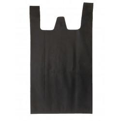 Sacs bretelles Noir 26+12x45 cm (x500)