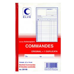 """Carnet Manifold """" Bon de commande"""" A5 -2 exemplaires"""
