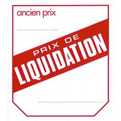 Etiquettes liquidation