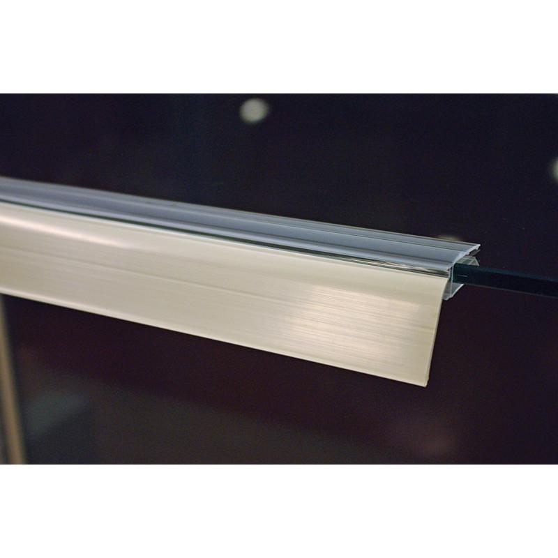 Profil porte étiquettes basculant 1330X40mm