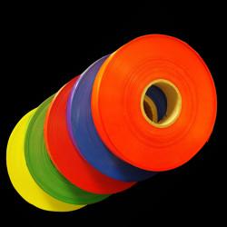 Bande de fond couleur pour porte étiquette (rouleau de 100 mètres)