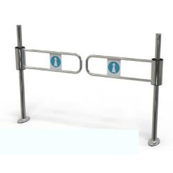 Portillon double de passage mécanique pour client
