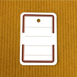 Etiquettes à trou 19 x 28 mm - L'Ensemblier