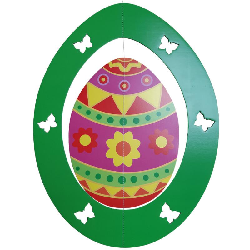 Mobile d'œuf en carton ignifugé