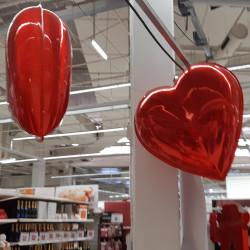 Exemple de décor avec le cœur en 3D