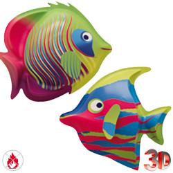 2 poissons exotiques de grande dimension en 3D