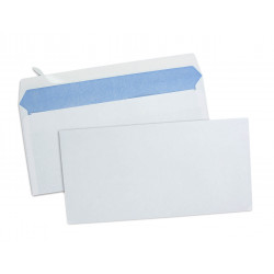 Enveloppes blanches 110x220mm