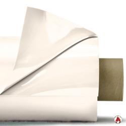 Laquefolie ignifugée 325cm UNIE très grande largeur blanc