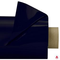 Laquefolie Bleue marine ignifugée 130 cm