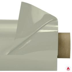 Laquefolie ignifugée 130 cm GRIS CLAIR