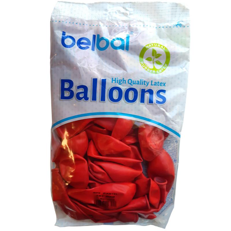 Sachet de 100 ballons à la couleur de 30 cm de diamètre